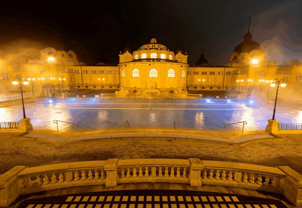 Budapest Spa Außenbereich
