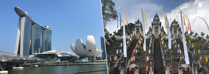 Reisebericht Bali & Singapur