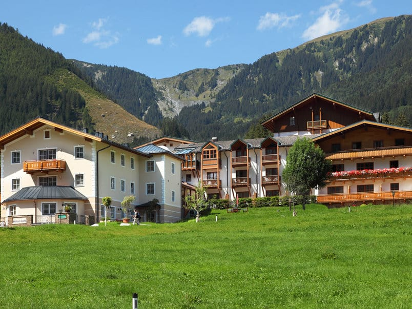 Krimmler Wasserfälle Hotel Außenanlage