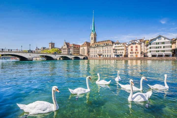 Zürich Urlaub Altstadt