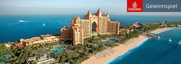 Emirates & Atlantis The Palm Gewinnspiel