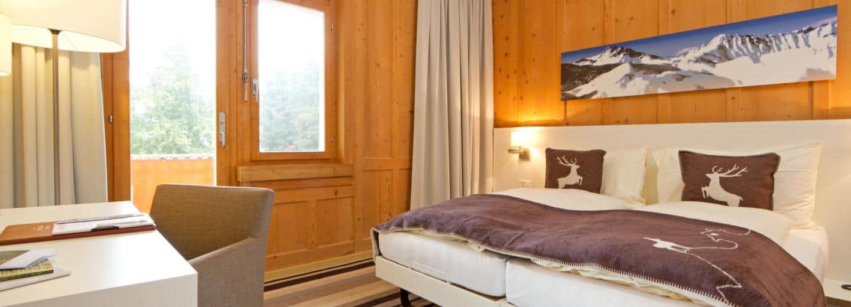 Davos Winterurlaub Hotelzimmer