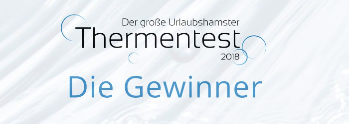 Thermentest Gewinner 2018