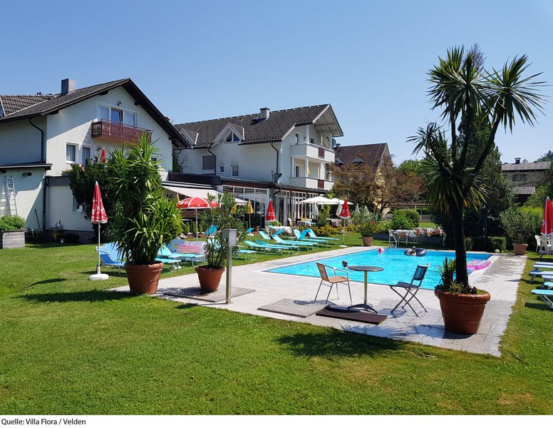 Familienhotel Villa Flora Pool