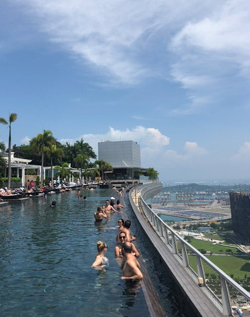 Marina Bay Sands Höhe