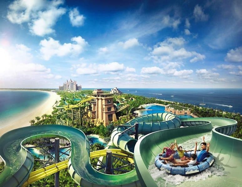 Atlantis The Palm Dubai Wasserpark