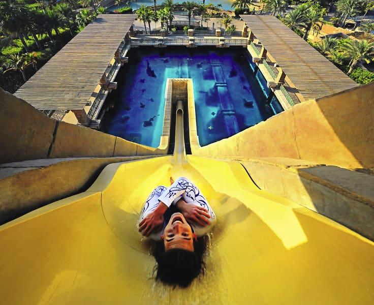 Atlantis The Palm Hotel Dubai Rutsche