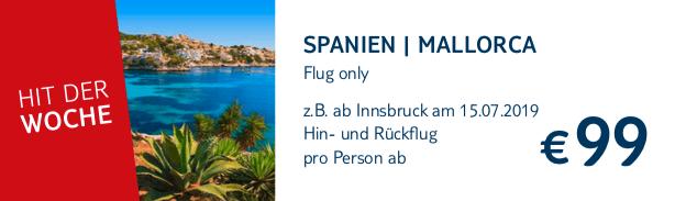 TUI Hit Flug Only Spanien