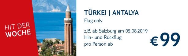 TUI Hit Flug Only Tuerkei