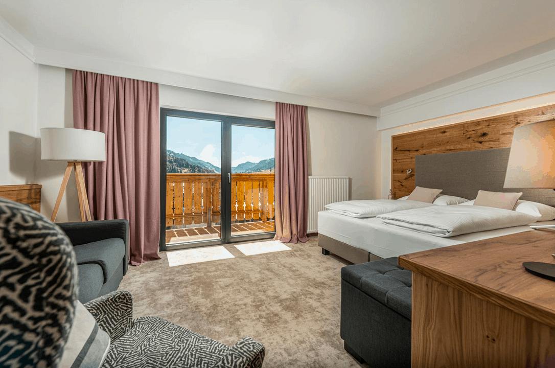 Stadtvilla Schladming Boutique Hotel Zimmer