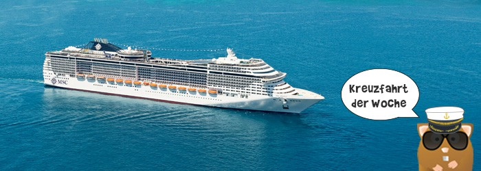 MSC Divina – Mittelmeerkreuzfahrt