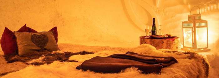 Iglu Übernachtung – Schneedorf Ötz