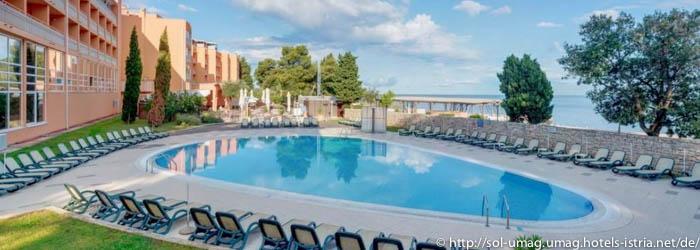 Hotel Sol Umag – Istrien – Kroatien