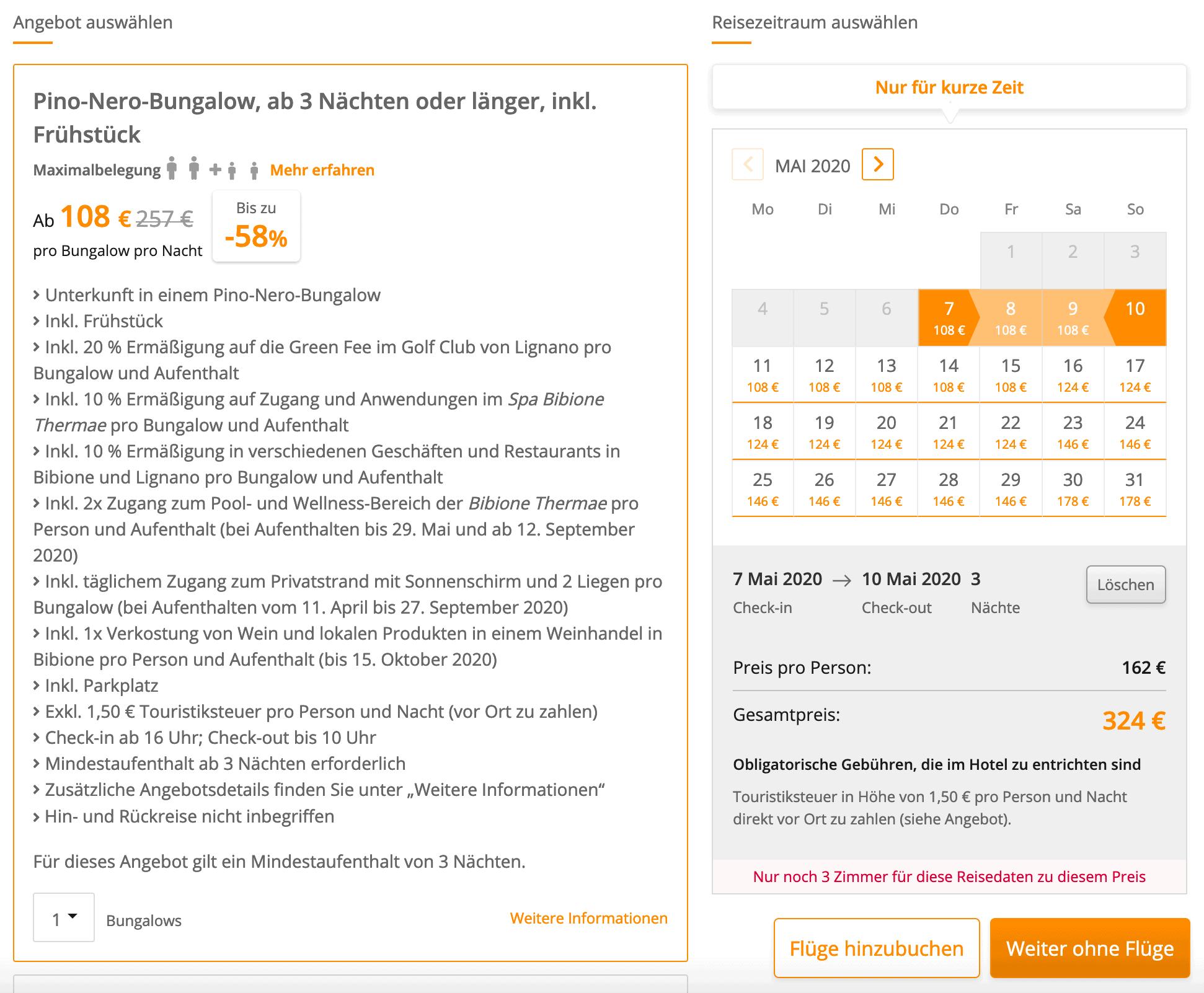 Bibione Urlaub Angebot