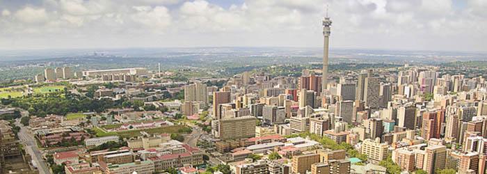 Flug Johannesburg