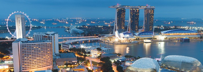 Flug Singapur