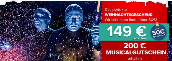 Musical Gutschein
