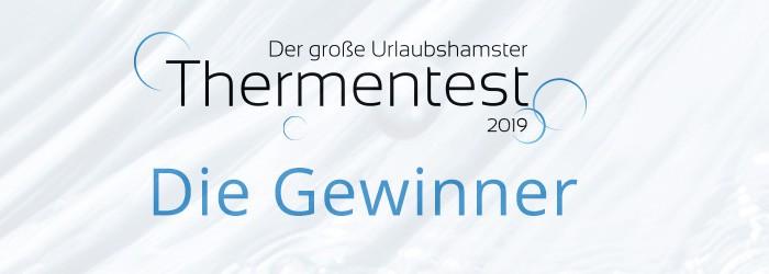 Thermentest Gewinner 2019