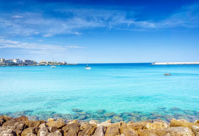 Apulien Rundreise Meer
