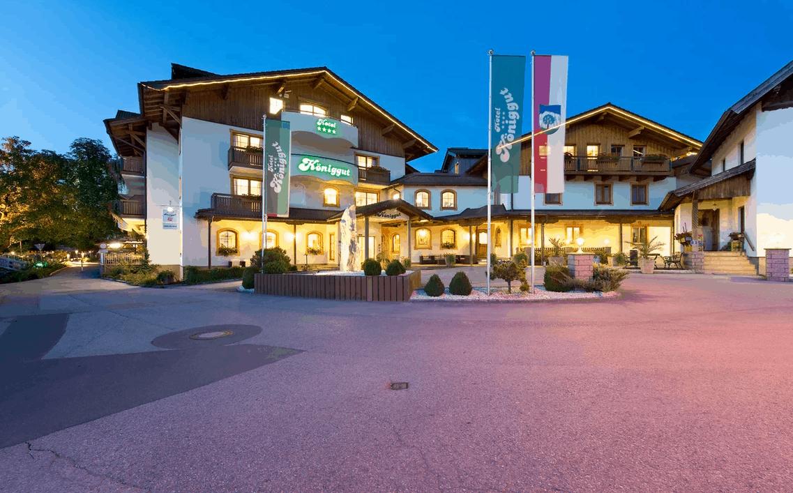 Mountainbike Reise Hotel Königgut
