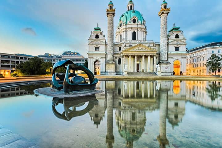Wien virtuell erleben Karlsplatz