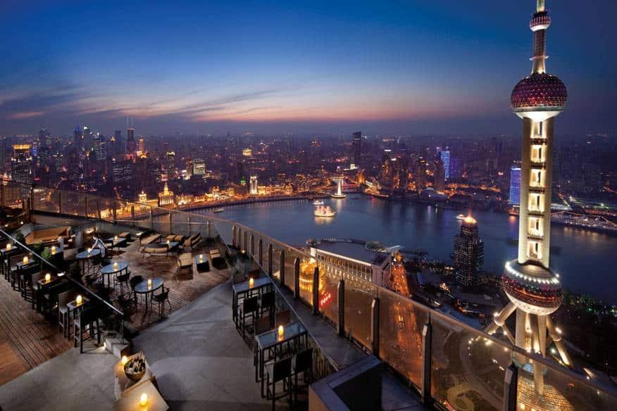 Hotels mit fantastischer Aussicht Shanghai