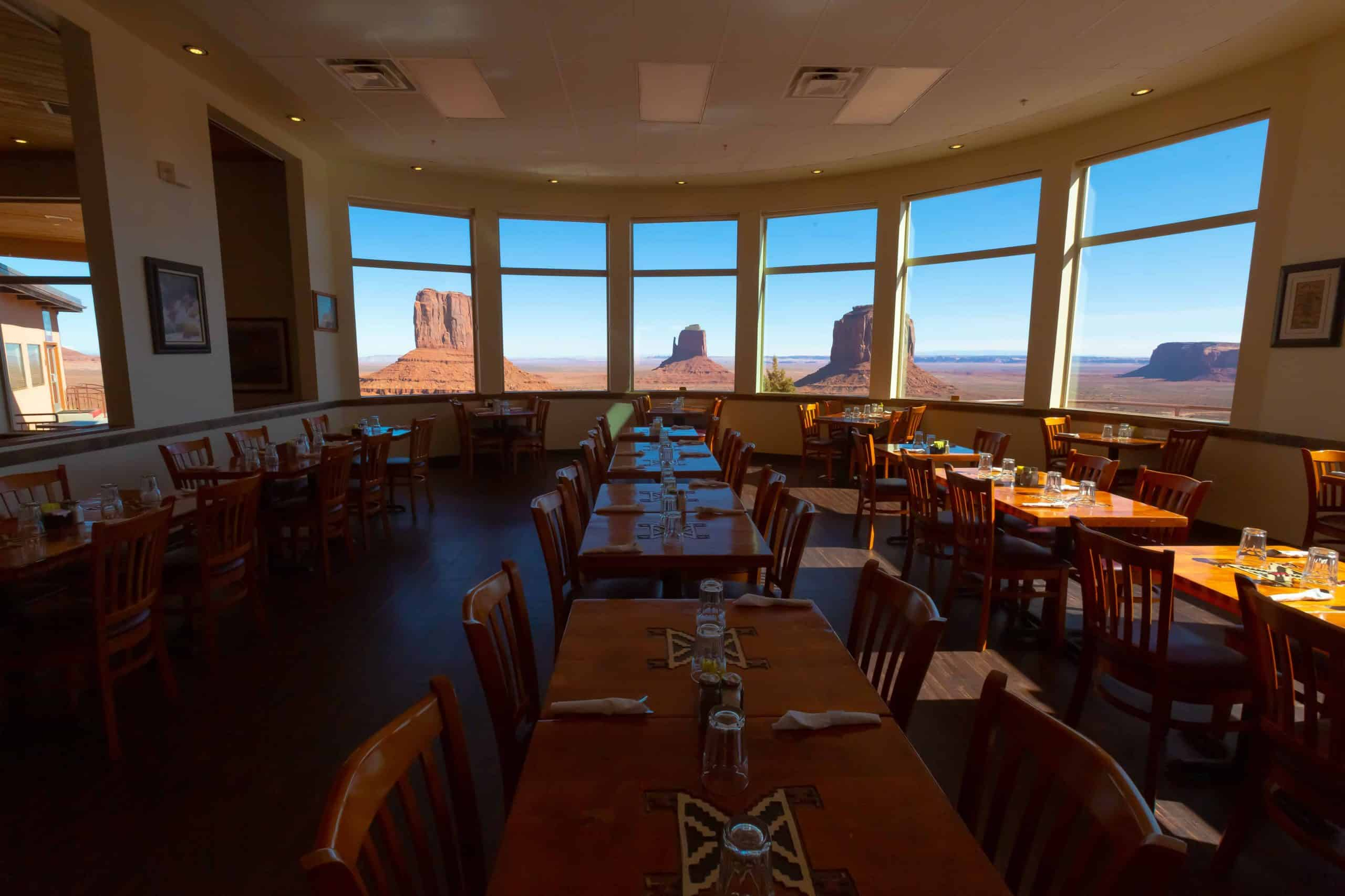 Hotels mit fantastischer Aussicht Monument Valley