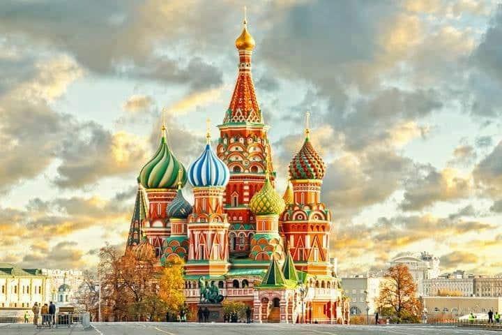 Moskau Basilika