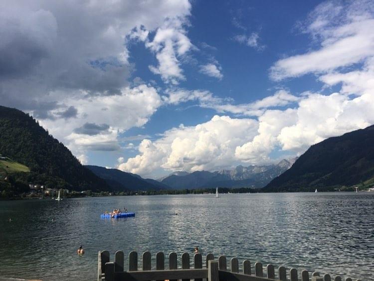 Seen in Österreich Zell am See