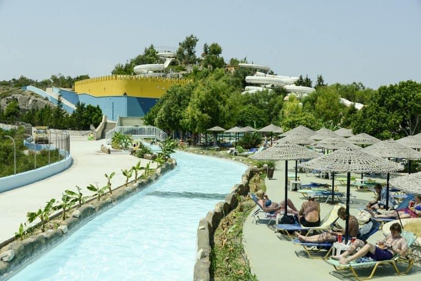 Wasserpark Rhodos