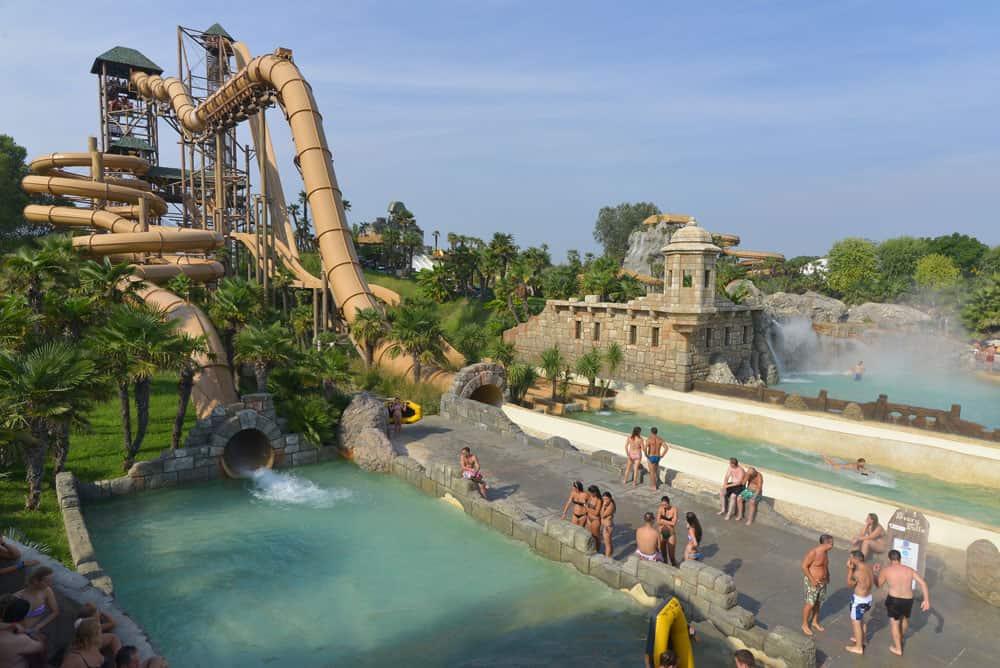 Wasserparks Italien