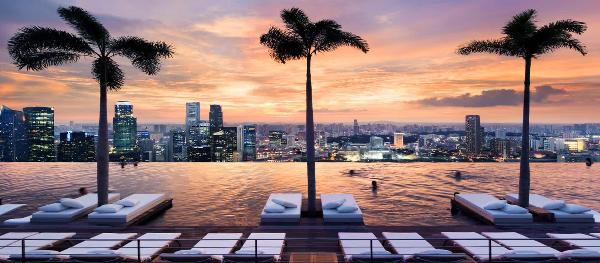 Die schönsten Pools Singapur
