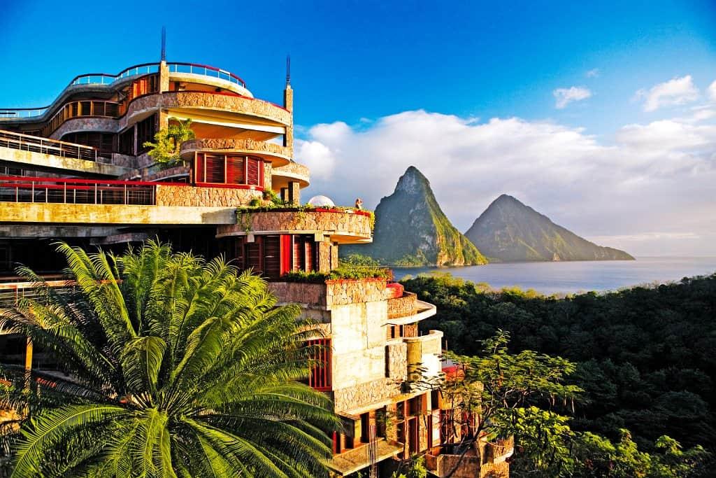 Hotel mit fantastischer Aussicht St Lucia