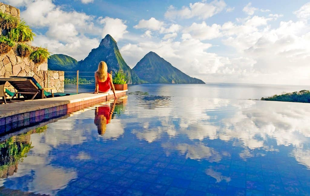 Die schönsten Pools St. Lucia