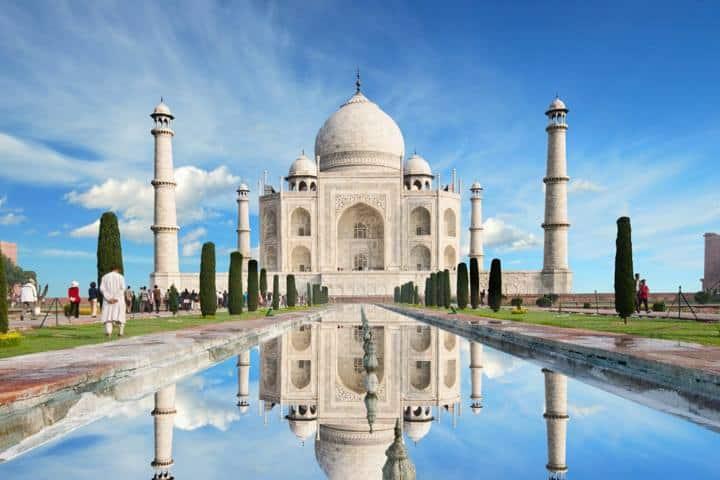 Sehenswürdigkeiten Taj Mahal