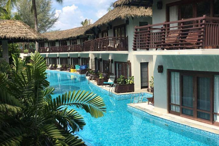 The Haven Khao Lak Hotelpool