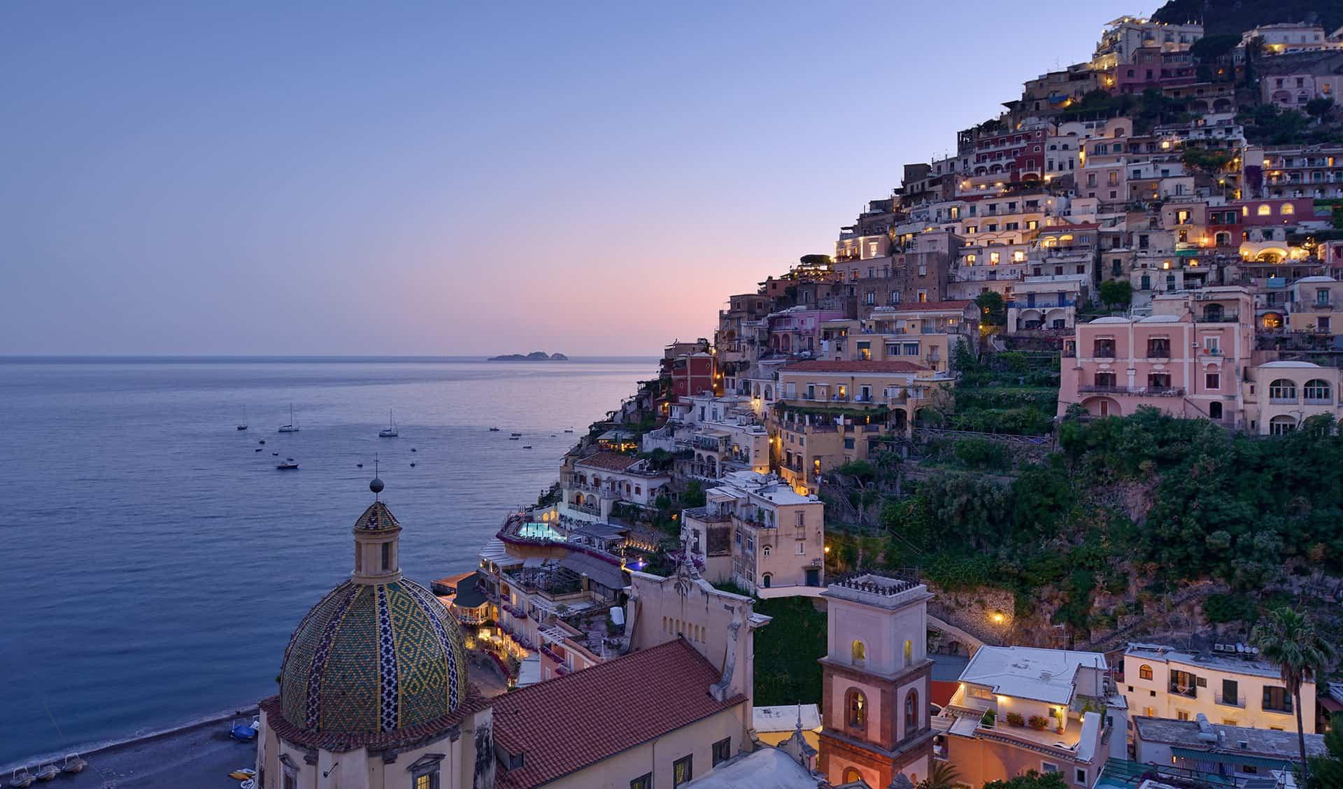 Hotels mit fantastischer Aussicht Amalfi