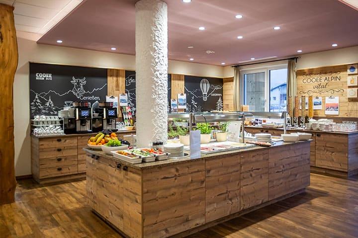 COOEE alpin Hotel Dachstein Restaurant