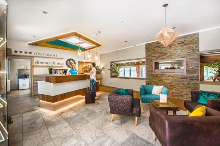 Hotel Donauschlinge Lobby