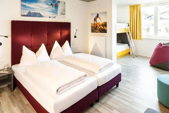 Hotel Basecamp Katschberg Zimmer