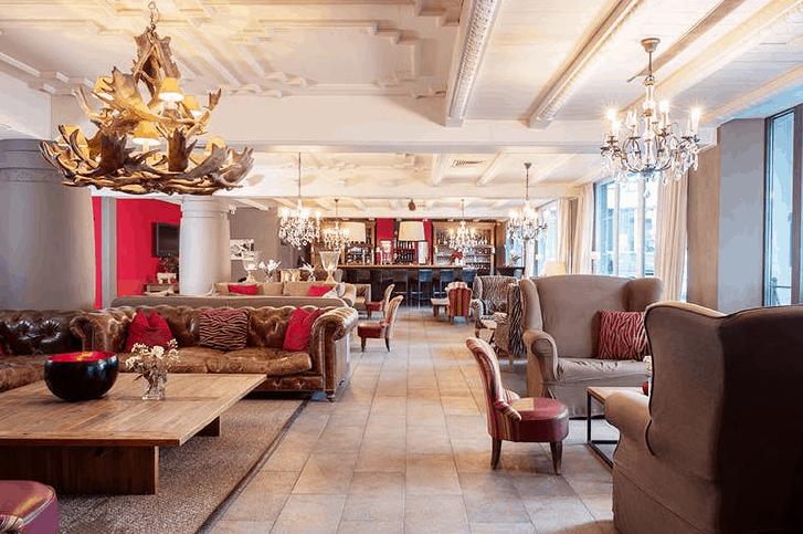 Q! Hotel Maria Theresia Lobby