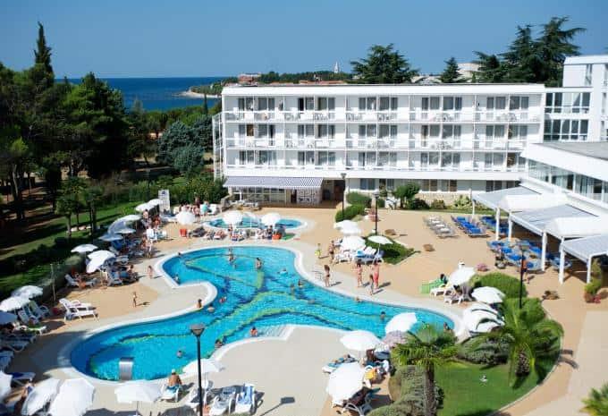 Aminess Laguna Hotel Novigrad Pool