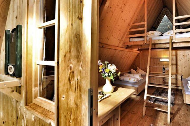 feelfree Adventure Camp Hütte