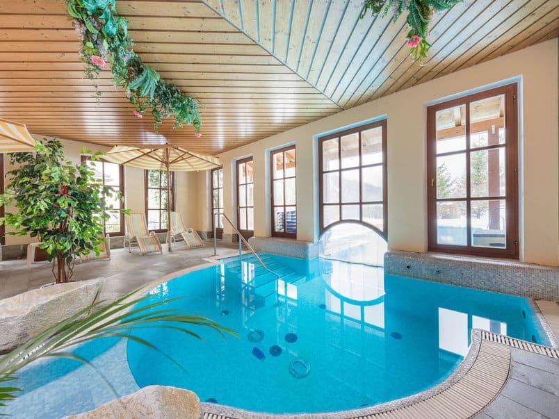Krimmler Wassererfälle Hotel Pool