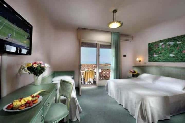 Hotel American Lignano Zimmer