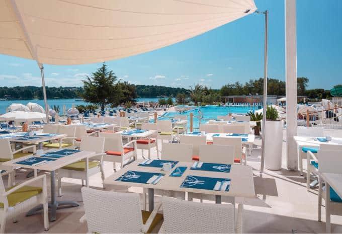 Valamar Isabella Island Resort Terasse