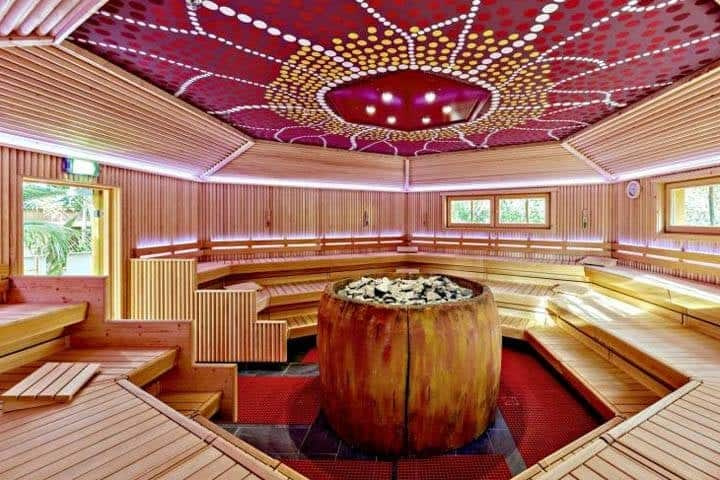 Tropical Island Sauna
