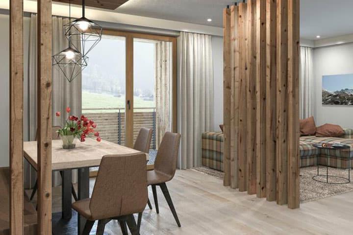 Alpina Apartments Zimmer