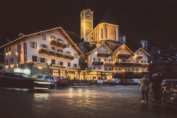 Heritage Hotel Hallstatt Winter