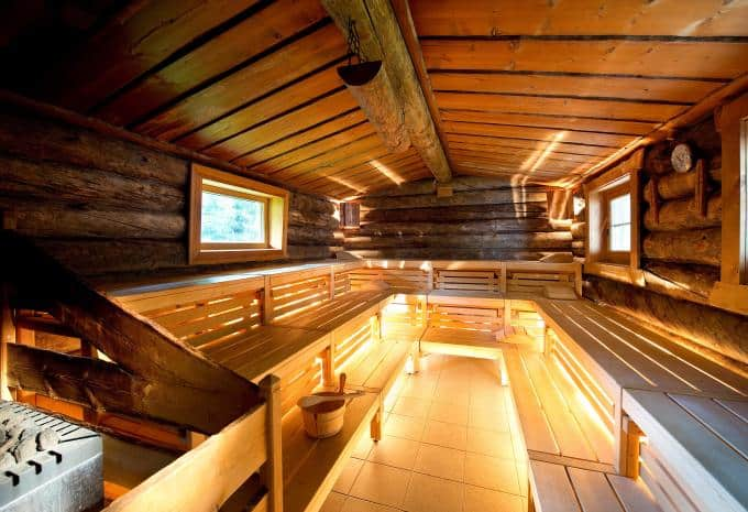 Familienferiendorf Kirchleitn Sauna